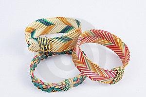 Weave Bracelets Royalty Free Stock Image - Image: 18333636