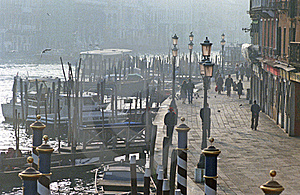 Venice In Winter Stock Photos - Image: 18334233
