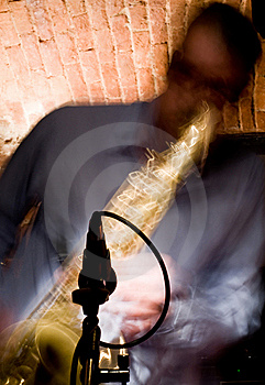 Saxophone Stock Photo - Image: 18334730