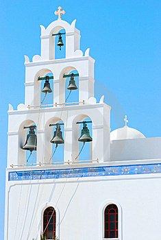 Greece Church Royalty Free Stock Image - Image: 18335056