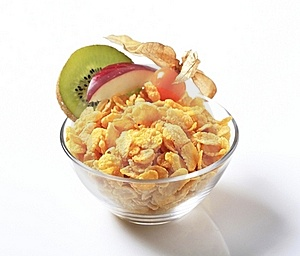 Corn Flakes Royalty Free Stock Photos - Image: 18335818