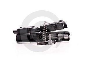 Hand Gun Repair Stock Photo - Image: 18335840