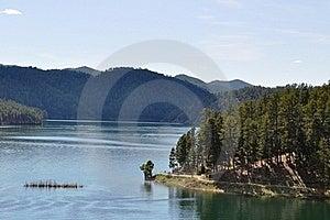 Black Hills Lake Royalty Free Stock Photo - Image: 18336165