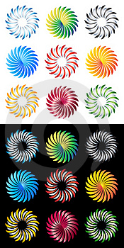 Vector Logo Elements Royalty Free Stock Images - Image: 18336709