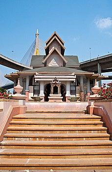 Exterior Thai Style Stock Photo - Image: 18336880