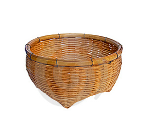 Vintage Brown Wicker Basket Royalty Free Stock Photography - Image: 18337747