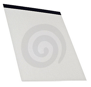 Blank Sketch Pad Ready For Creativity Royalty Free Stock Images - Image: 18337869