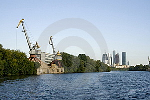Moscow-city Business Center Stock Photo - Image: 18338940