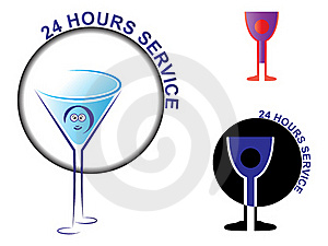 Twenty Four Hours Service Stock Photography - Image: 18341082