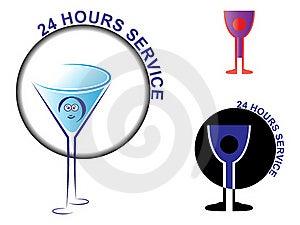 Twenty Four Hours Service Stock Photography - Image: 18341082
