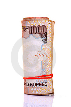 Indian Notes Royalty Free Stock Photography - Image: 18341297