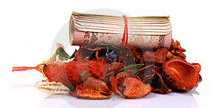 Money Worshipping Stock Photos - Image: 18341693