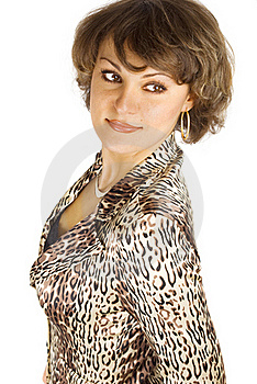 Portrait Of Attractive Woman Stock Photos - Image: 18352453