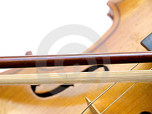 Violin Bow Stock Images - Image: 18352674