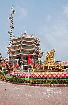 The Beautyful Chinese Shrine Stock Photography - Image: 18352952
