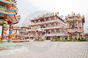 The Beautiful Chinese Shrine Royalty Free Stock Image - Image: 18352996