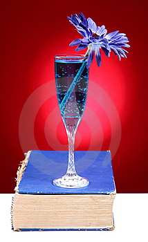 Book And Drink Royalty Free Stock Image - Image: 18353276