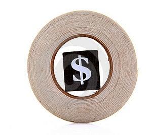 Dollar In Circle Stock Photos - Image: 18354183