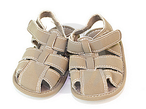 Pair Of Sandals Stock Images - Image: 18354234