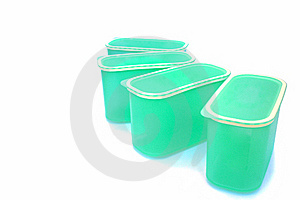 Plastic Food Container Royalty Free Stock Image - Image: 18358376