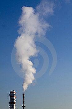 Fume Chimney Stock Image - Image: 18367441