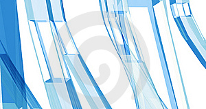 Abstract Blue Clean Background With Copyspace Stock Photography - Image: 18368832