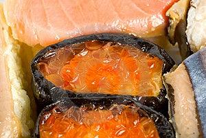 Japanese Sushi Royalty Free Stock Photo - Image: 18369585