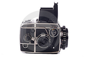 Vintage Medium Format Camera Stock Photography - Image: 18370602