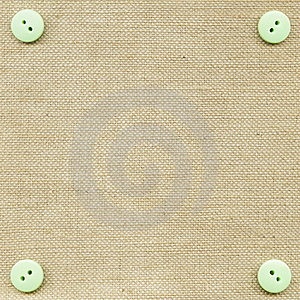 Buttons On Fabric Royalty Free Stock Photo - Image: 18373555