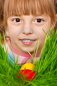 Easter Eggs Hunt Royalty Free Stock Photos - Image: 18374508