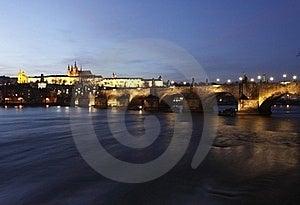 Prague At Sunset Royalty Free Stock Photography - Image: 18374947