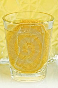 Lemon Liqueur Royalty Free Stock Photos - Image: 18375328