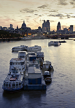 City Of London Royalty Free Stock Photography - Image: 18377097