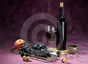 Still Life With Vine Royalty Free Stock Images - Image: 18377469