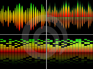 Equalizer Set Stock Image - Image: 18377831