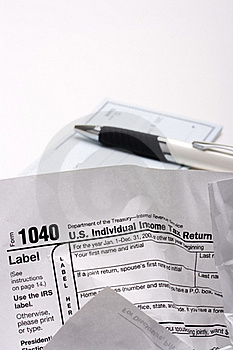 Form 1040 Royalty Free Stock Photos - Image: 18379278