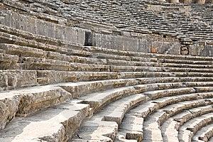 Ancient Roman Amphitheater Aspendos. Stock Photos - Image: 18379463