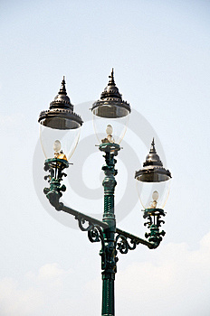 Electricity Post Ancient Royalty Free Stock Photos - Image: 18380378