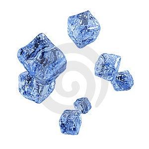Ice Cube Background. Stock Photos - Image: 18382143