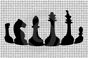 Black Chess Stock Photos - Image: 18382183