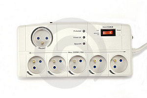 Surge Protector Royalty Free Stock Images - Image: 18383769