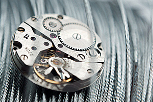 Clockwork Stock Image - Image: 18390011