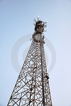 Signal Tower Royalty Free Stock Photo - Image: 18390245