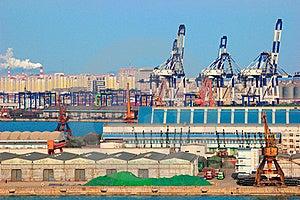 China Port Royalty Free Stock Photo - Image: 18390295