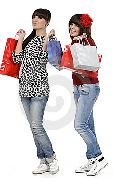 Shopping Time Royalty Free Stock Photo - Image: 18390965