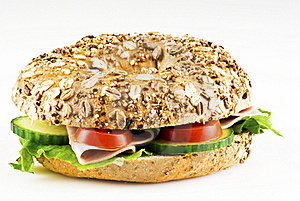 Freshly Made Sandwich Royalty Free Stock Images - Image: 18391069