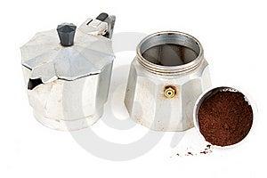 Old Coffee Machine Royalty Free Stock Photo - Image: 18391385