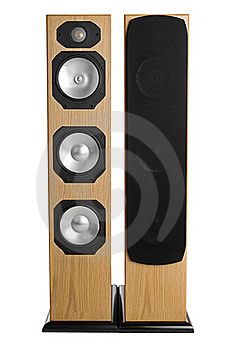 Vertical Speaker Royalty Free Stock Photography - Image: 18394437