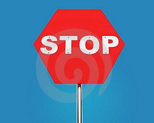 STOP Sign Stock Photos - Image: 18395293