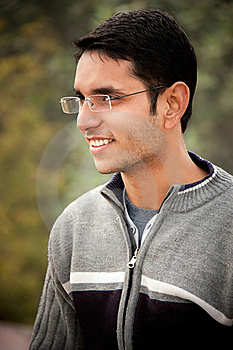 Handsome Indian Man Royalty Free Stock Photography - Image: 18399477